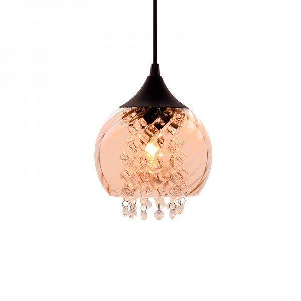 lustre pendente taschibra elisabeth rigato conhaque e27 bivolt 1